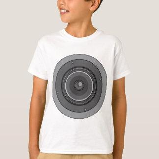 Música audio do woofer do sub do ~ do auto-falante camiseta