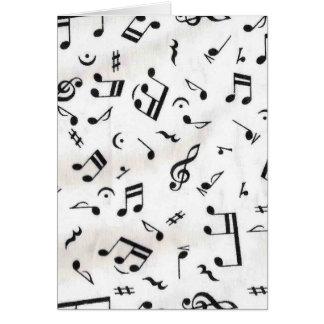 Música Cartão Comemorativo