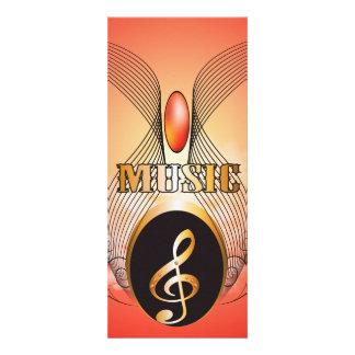 Música, clef convite personalizados