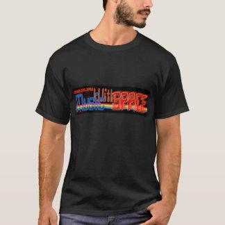 Música com espaço camiseta