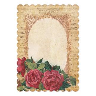Música & convites dos rosas