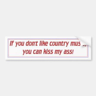 Música country adesivos