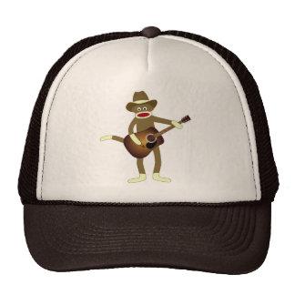 Música country do macaco da peúga boné
