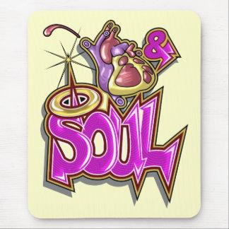 Música da alma mouse pad