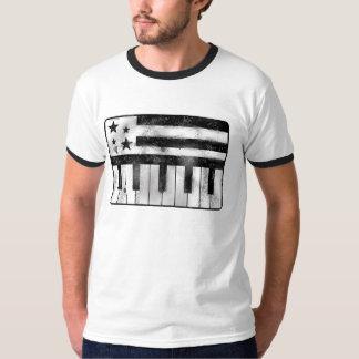 Música da bandeira dos EUA Camiseta