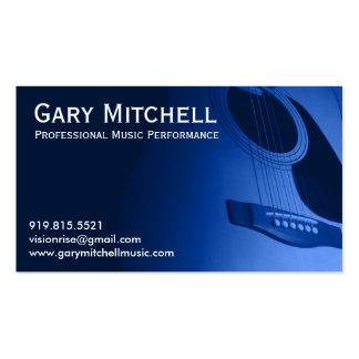 Música de Gary Mitchell Cartão De Visita