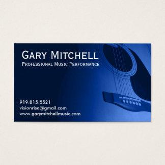 Música de Gary Mitchell Cartão De Visitas