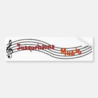 Música de Susquehanna Adesivo