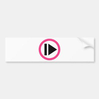 Música do botão do jogo adesivos