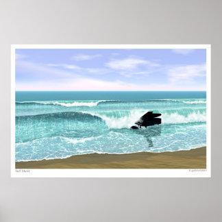 Música do surf pôster