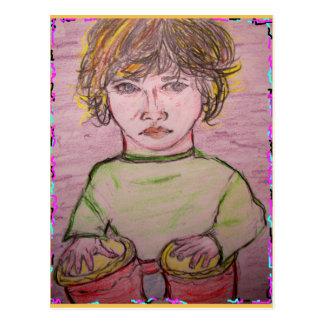 música dos bongos cartão postal
