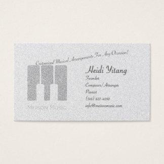 Música Empresa Cartão De Visitas