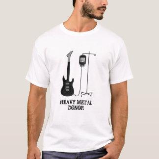 Música fornecedora da guitarra do metal pesado camiseta