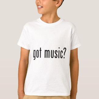 música obtida? tshirt