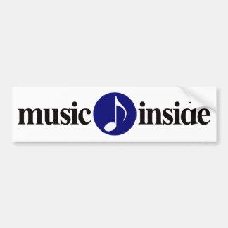 música para dentro adesivos