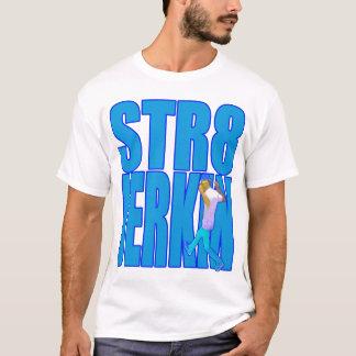 Música rap de empurrão do hip-hop da dança do camiseta