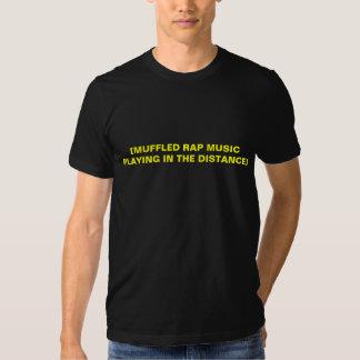 [Música rap Muffled que joga na distância] Camisetas
