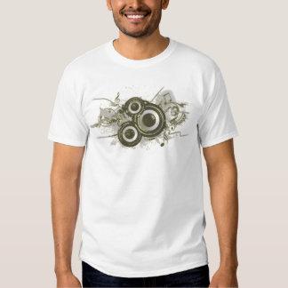 Música - redemoinho do auto-falante camisetas