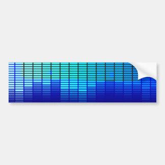 Música retro adesivo para carro