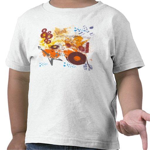 Música retro do anos 80 t-shirts