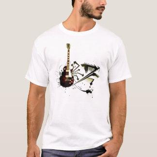 Música rock camiseta