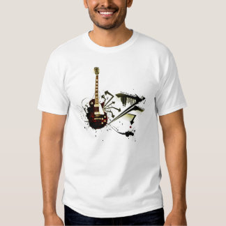 Música rock camisetas