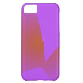 Música roxa simples capa para iPhone 5C