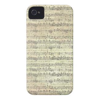 música velha capas para iPhone 4 Case-Mate
