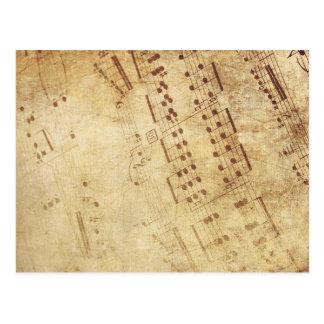 Musical Cartão Postal