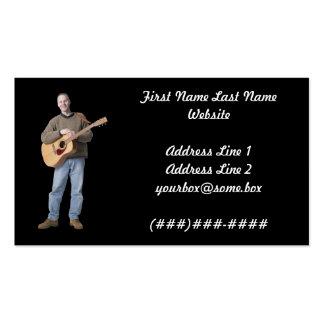 Músico Cartão De Visita