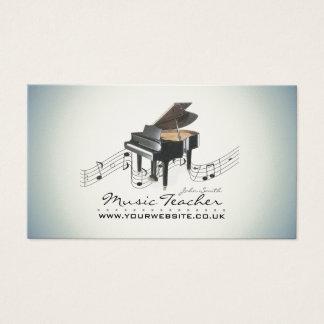 Músico/cartão de visita professor de música cartão de visitas