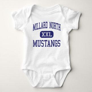 Mustang nortes Omaha médio Nebraska de Millard Camisetas