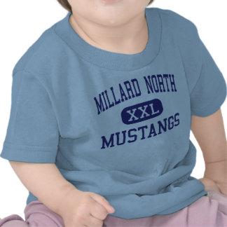 Mustang nortes Omaha médio Nebraska de Millard Tshirts