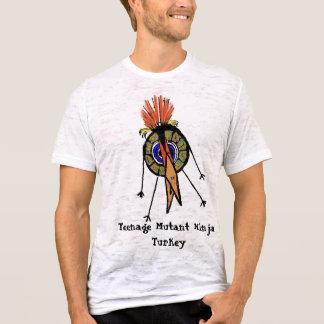 Mutante adolescente Ninja Turquia Camiseta
