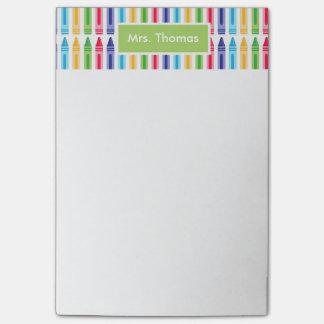 Mutli coloriu notas de post-it personalizadas post-it notes