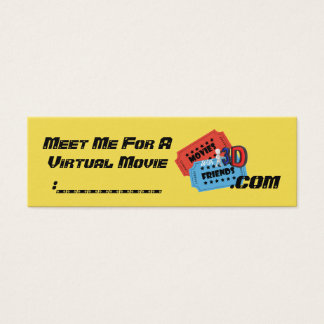 MWF3D convidam cartões
