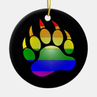 MyPride365 - Enfeites de natal da pata de urso do