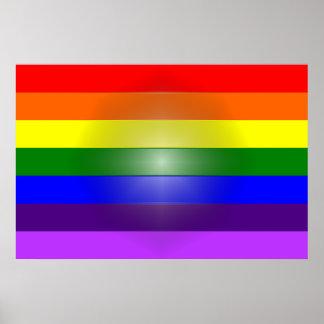 MyPride365 - PRINCÍPIOS - poster do arco-íris do