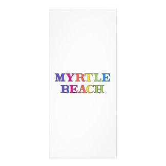 Myrtle Beach 10.16 X 22.86cm Panfleto