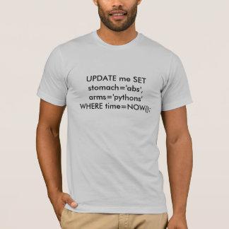 MYSQL: ACTUALIZE-ME arms= AJUSTADO de Camiseta