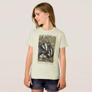 "MYSTICMATRIX ""tão raro quanto. ,"" T natural das Camiseta"