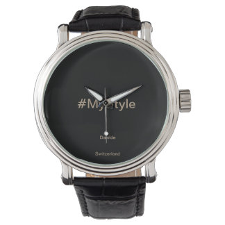 MyStyle relógio de pulso