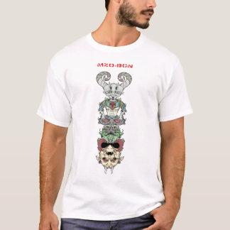 mzo graffiti camiseta