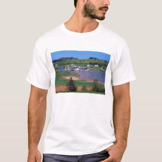 N.A. Canadá, Prince Edward Island. Os barcos são Camiseta