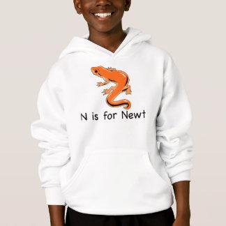 N é para o t-shirt do Newt