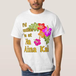 Na Aina Kai eu preferencialmente estaria em Na Camiseta