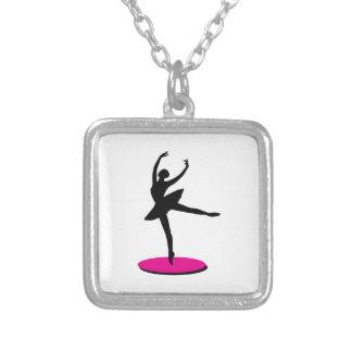 Na bailarina do dedo do pé bijuteria personalizada