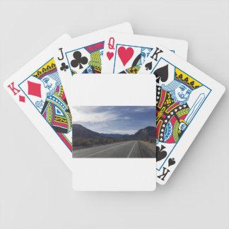 na estrada a mt Charleston nanovolt Baralho De Poker