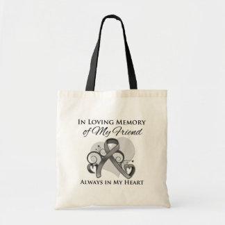 Na memória de meu amigo - cancro cerebral bolsa para compra
