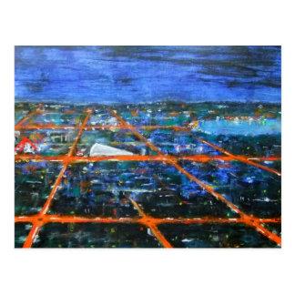 Na noite no cartão de Milton Keynes